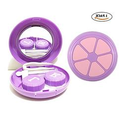 HathLove Mini Contact Lens Travel Case, Lens Care Container