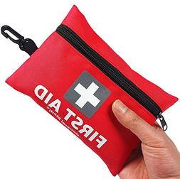 General Medi Mini First Aid Kit,92 Pieces Small First Aid Ki