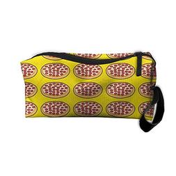 Mini Pizza Makeup Bag Zipper Organizer Case Bag Cosmetic Bag