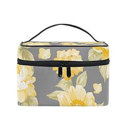 multifuncation yellow roses pattern bag