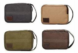 New Timberland Canvas Flat Pack Travel Kit