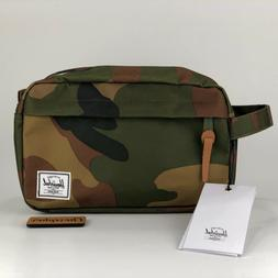 NEW Herschel Supply Co. Chapter Travel Kit Toiletry Bag Wood