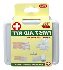 NEW Travel First Aid Kit - 20pc. Case - Band Aid - Car - Cam