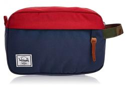 New W/Tags Herschel Supply Co. Chapter Travel Kit in Navy/Re