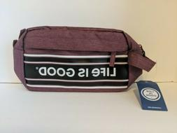 NWT Life is Good Men's Dopp Kit Toiletry Bag for Travel