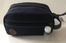 NWT Timberland Men's Navy Canvas Travel Kit Bag