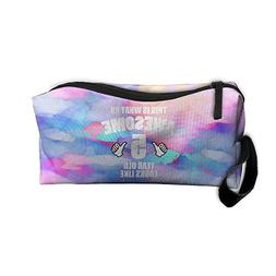 5 Year Old Makeup Bag Zipper Organizer Case Bag Cosmetic Bag