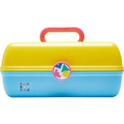 Caboodles On-The-Go Girl Retro Case - Two Tone 7 Colors Toil