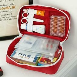 Outdoor First Aid Kit Bag Travel Portable Medicine Package H