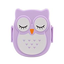REYO Owl Lunch Box Food Container Storage Box Portable Bento