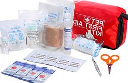Pet First Aid Kit Dog – Vet Approved and is Perfect for Bl