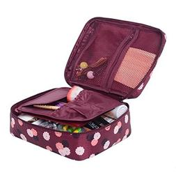 Pockettrip Clear Cosmetic Makeup Bag Toiletry Travel Kit Org
