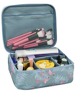 Portable Travel Makeup Cosmetic Bags Travel Kit Organizer Mu