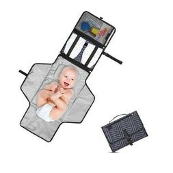 Portable Changing Pad - Diaper Lightweight Travel Station Ki