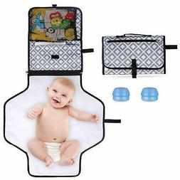 Portable Changing Pad, Diaper Clutch Kit, Travel Foldable St