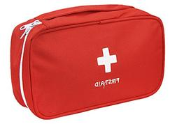 Portable First Aid Empty Kit Pouch Tote Small First Responde