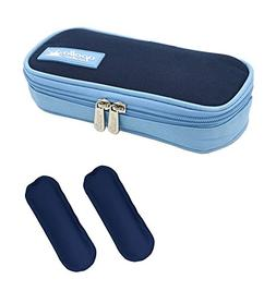 goldwheat Portable Insulin Cooler Bag Diabetic Organizer Med