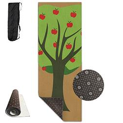 Portable Travel Storage Bags Apple Tree Clutch Wallets Pouch