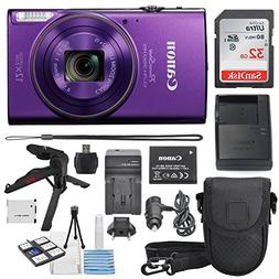Canon PowerShot ELPH 360 HS 12x Optical Zoom - Built-In Wi-F