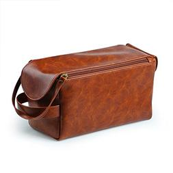 Magic Vosom PU Toiletry Bag Dopp Kit Cosmetic Pouch Case Gif