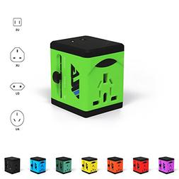 #1 Rated Travel Adapter and Charger - USB Charging Ports - S