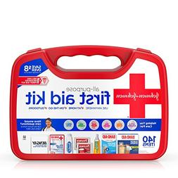 Johnson and Johnson Red Cross All Purpose First Aid Kit For