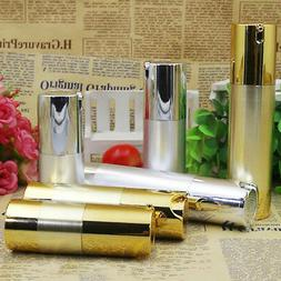Refillable Airless Bottle Travel Makeup Plastic Pump Contain