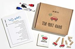 Road Trip Travel Games Activities- Dry Erase Countdown Cards