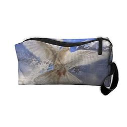 Roomy Cosmetic Bags With Zipper For Travel Dove Portable Lad