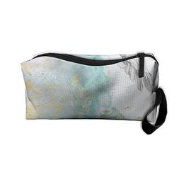 Roomy Cosmetic Bags With Zipper For Travel Dove Of Peace Por