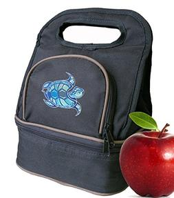 sea turtle lunch bag