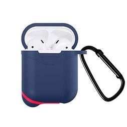 Newseego AirPods Case Full Protective Waterproof Silicone Co