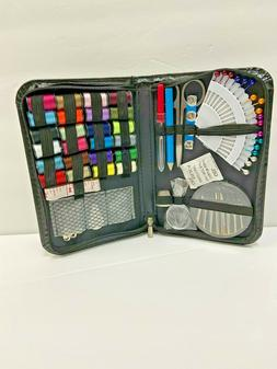 Sewing Kit Mini Beginner Case Set Pocket Style Home Travel C