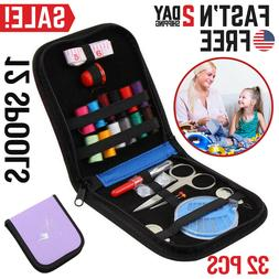 Sewing Kit Travel Mini Small Emergency Accessories Set Porta