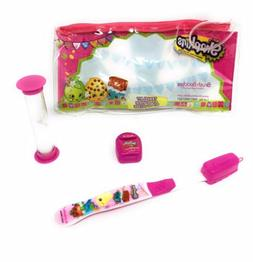 Shopkins Toothbrush Travel Kit For Kids Includes Toothbrush
