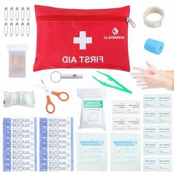 small travel first aid kit 76 piece