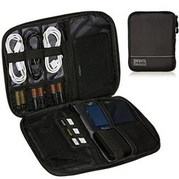 Smart Electronics Organizer Travel Case for Cable, Cord, Ada
