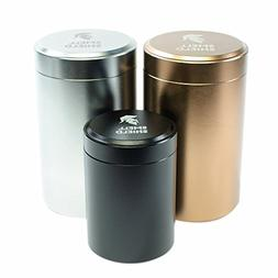 STASH JAR SMELL PROOF CONTAINER – 3 Set of Smell Shield Ti