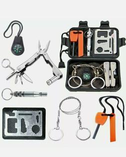 Survival kit for outdoor adventures camping hiking outdoor t