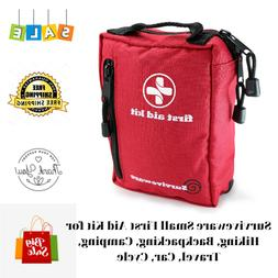 Surviveware Small First Aid Kit for Hiking, Backpacking,Camp