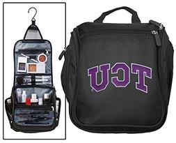 Texas Christian University Toiletry Bags Or Hanging TCU Shav