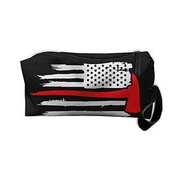 Thin Red Line Firefighter Axe Fire Portable Handbag Storage