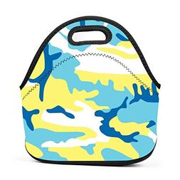 Tint Camo Camouflage Meisai Lunch Bag Multifunctional Bento