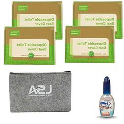 Toilet Seat Covers Disposable With One Drop Toilet Deodorize