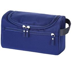 Mens Travel Toiletry Bag with Hanging Hook Waterproof Shavin
