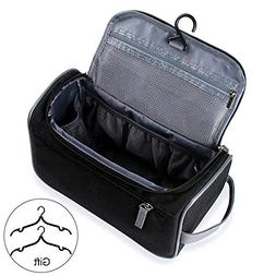 Travel Toiletry Bag Organizer, Jiemei Hanging Wash Bag Shavi