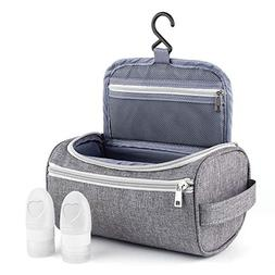 Travel Toiletry Bag, FUNANASUN Hanging Organizer Cosmetic Ma