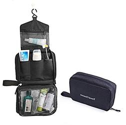 AuHonr Travel Toiletry Bag Business Toiletries Case for Men