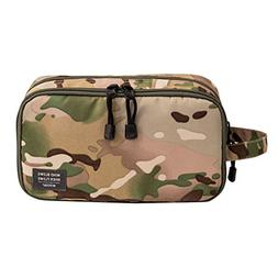 GOHIGH Travel Toiletry Organizer Bag for Men Women Canvas Co