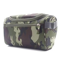Toiletry Bag Travel Case Cosmetic Makeup with Hanging Hook D